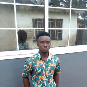 David lamptey, 22, Accra, Ghana