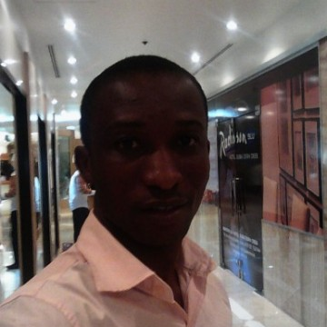Oladokun Anthony Femi, 33, Sharjah, United Arab Emirates