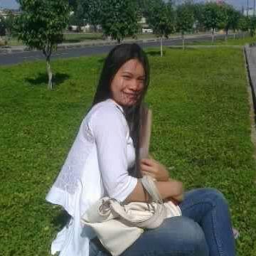 Jazty Mae Canseco Sindo, 28, Bayawan City, Philippines