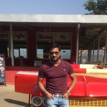 Atul Singh Bhadoriya, 28, Pune, India