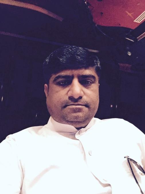 Tariq Chauhan, 50, Dubai, United Arab Emirates