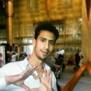 Ibrahim, 29, Cairo, Egypt