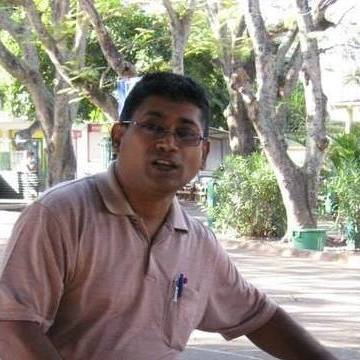 Dinesh Bachoo, 52, Port Louis, Mauritius