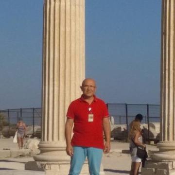Turgut Turhan, 59, Antalya, Turkey