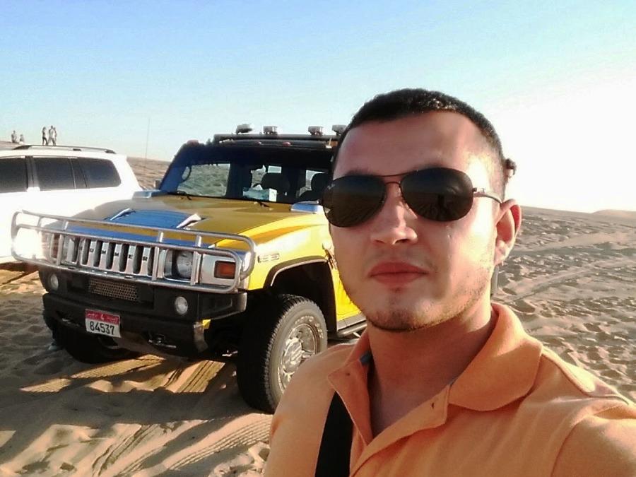 Alejandro Bañol, 31, Abu Dhabi, United Arab Emirates