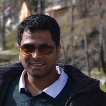 Sridhar Reddy, 31, Zurich, Switzerland
