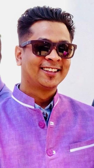 Amitesh Kachchhap, 33, Ranchi, India