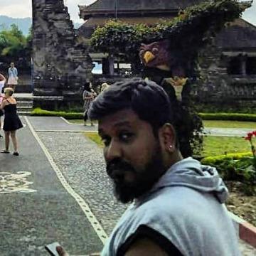 Muthuvel Kalaivanan, 35, Chennai, India