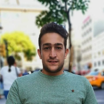 A'bd Naj, 25, Istanbul, Turkey