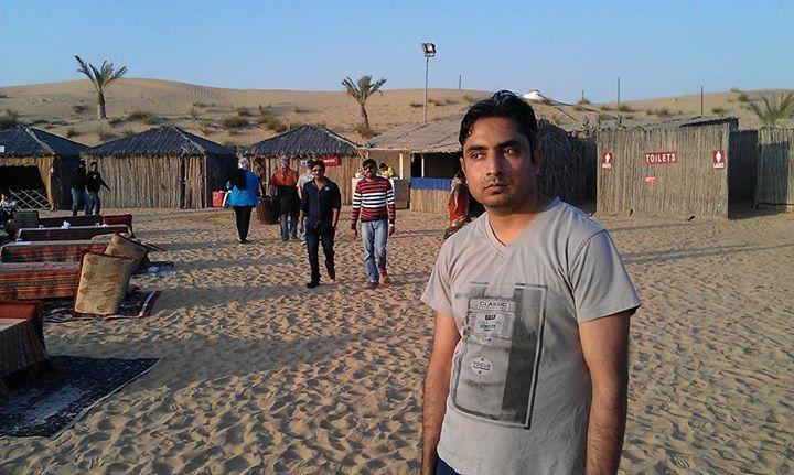 Hussain Ahmed Naveed, 39, Lahore, Pakistan