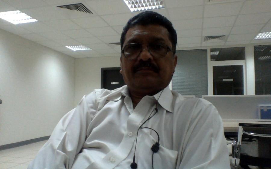 Mohandas, 66, Dubai, United Arab Emirates