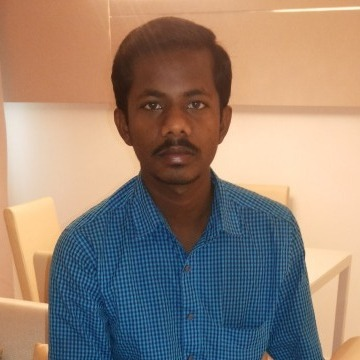 Siva Sivasubramani, 29, Sharjah, United Arab Emirates