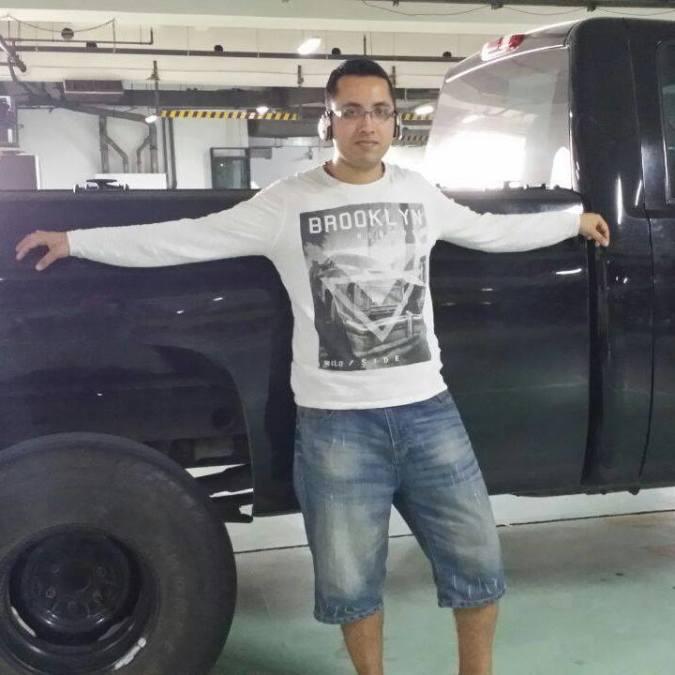 Julius Gomes, 33, Dubai, United Arab Emirates