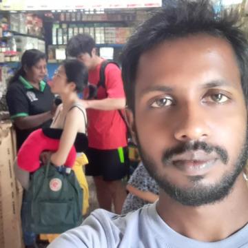 Dinesh Warnakulasuriya, 29, Colombo, Sri Lanka