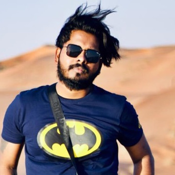 Gopa Kumar, 27, Sharjah, United Arab Emirates