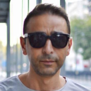 Shadi Kharouf, 42, Istanbul, Turkey