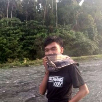 Rian Dusri Putra, 23, Padang, Indonesia
