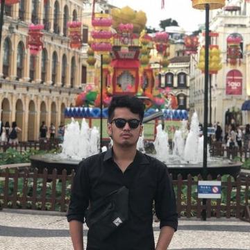 Fadjrin, 21, Yogyakarta, Indonesia