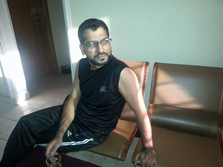 Muhammad Amjad, 39, Jeddah, Saudi Arabia