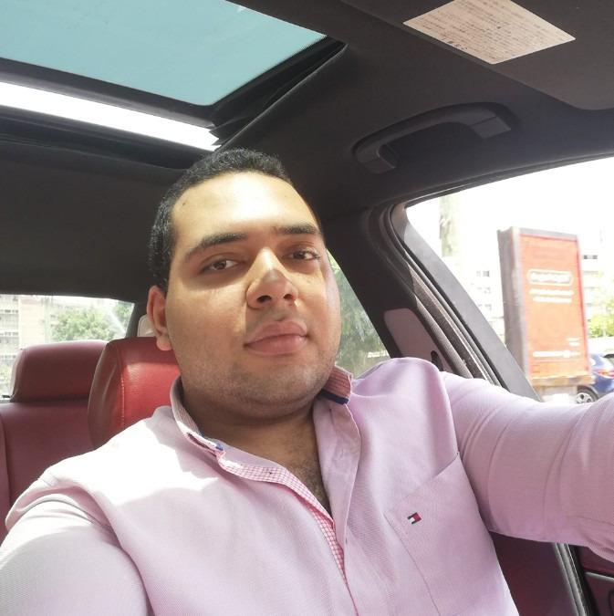 Ahmed Mohamed Sediek, 27, Alexandria, Egypt