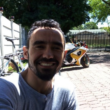 Nathan Davids, 38, Benoni, South Africa