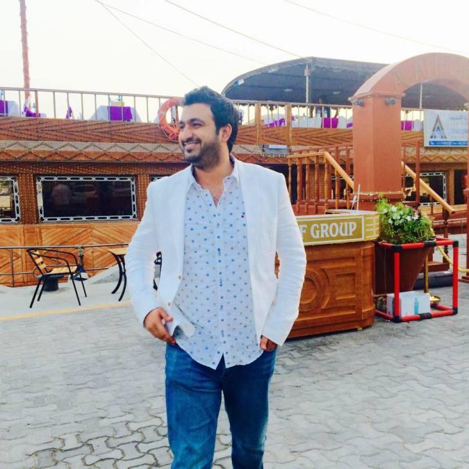 Muhammad Atif, 30, Dubai, United Arab Emirates