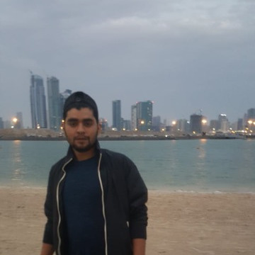 Hamza Khan, 30, Dubai, United Arab Emirates