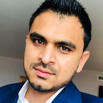 Konil Patel, 32, Plymouth, United States