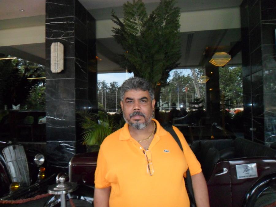 Amar, 51, Agra, India