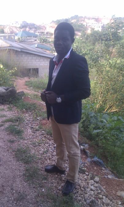 Dominic Appiah, 30, Takoradi, Ghana