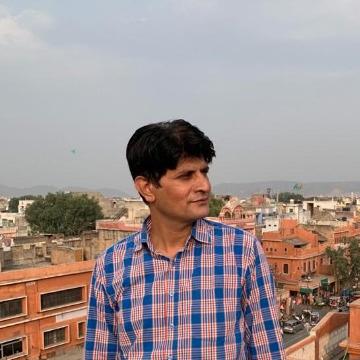 Akash Choudhary, 28, Jaipur, India