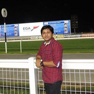Vipin Jacob, 30, Dubai, United Arab Emirates