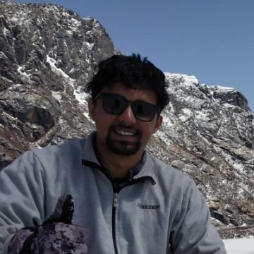 Roshan Nair, 27, Panaji, India