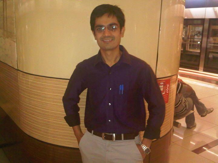 Aditya Sirohi, 33, Dubai, United Arab Emirates