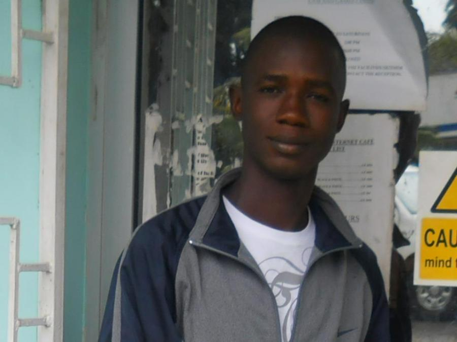 Hamid M Thoronka, 30, Conakry, Guinea