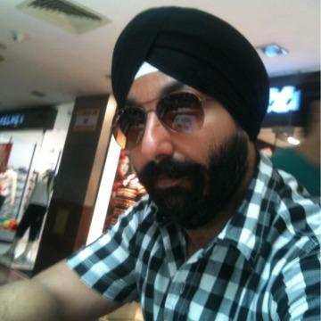 Gurdeep Singh, 35, Ni Dilli, India