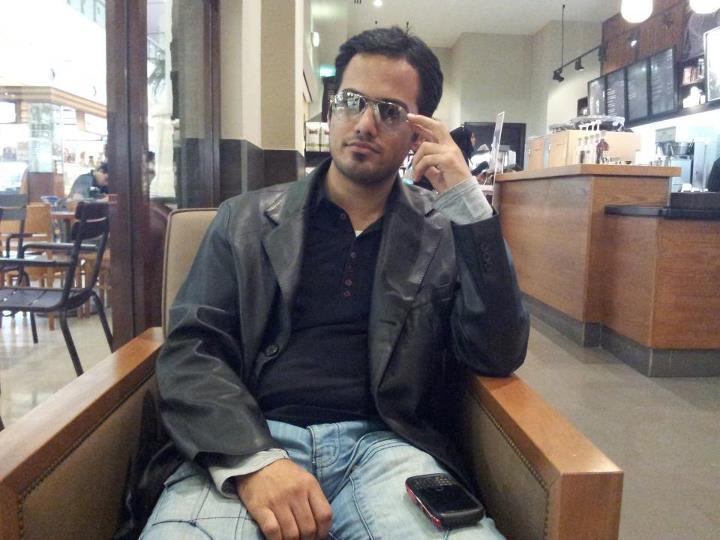 Kamil Parkar, 30, Dubai, United Arab Emirates