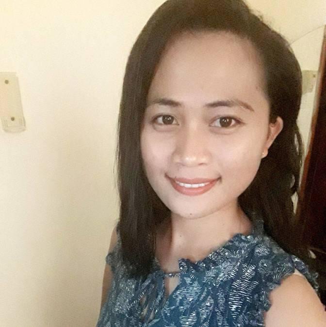 Analyn Cuarteron, 28, Sharjah, United Arab Emirates