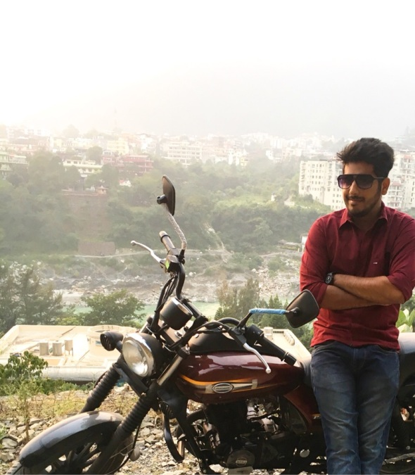 Akash Sachdeva, 27, New Delhi, India