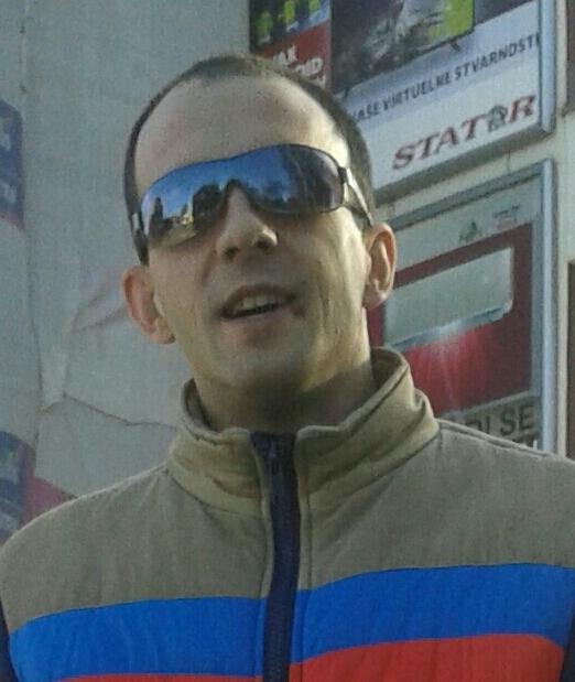 Gojko Bozovic, 35, Belgrade, Serbia