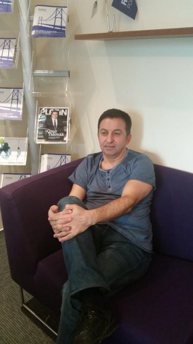 Tayfun Demirbüken, 57, Istanbul, Turkey