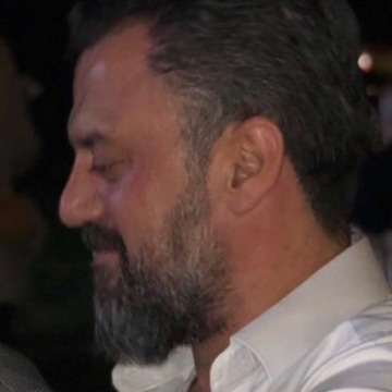 Oğuzhan Cerrahoglu, 43, Iskenderun, Turkey