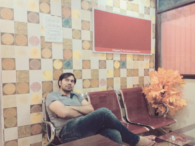 Nitin Thakur, 40, Gulbarga, India