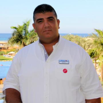 Michael Keriakos, 46, Hurghada, Egypt