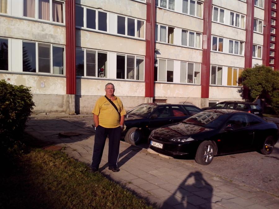 Henrikas Kacanauskas, 81, Siauliai, Lithuania