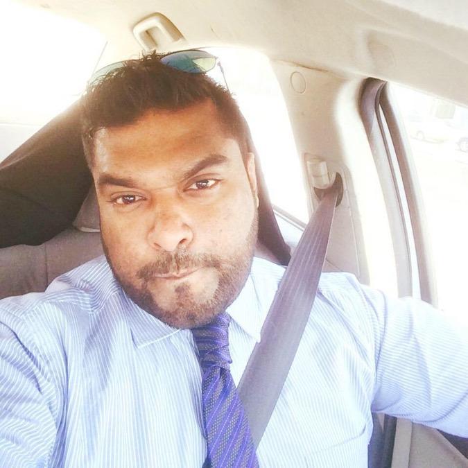 Dineshan satkunanathan, 32, Doha, Qatar