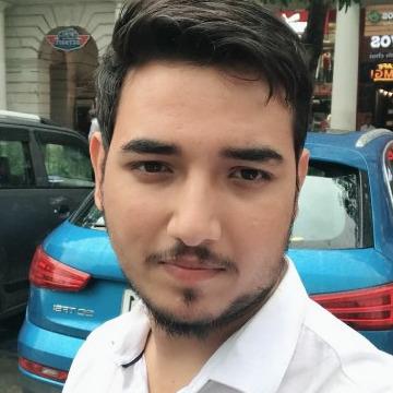 Himanshu Vashishth, 26, Aligarh, India
