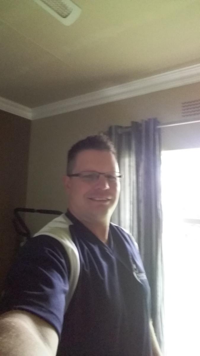 Jaco de Beer, 33, Johannesburg, South Africa
