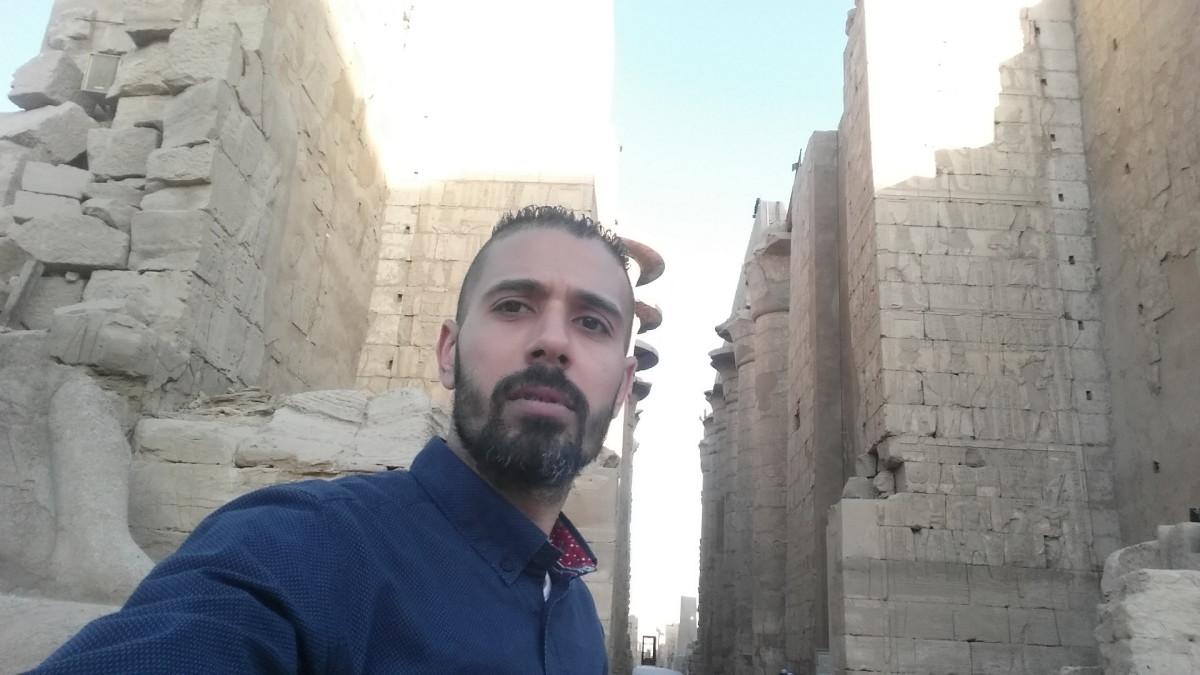 Mahmoud Ahmed, 40, Cairo, Egypt