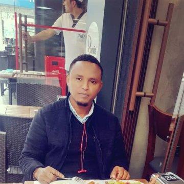 Abdi Yusuf, 31, Addis Abeba, Ethiopia